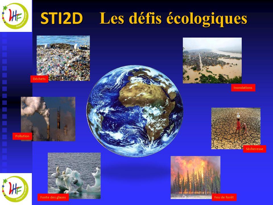 Les défis écologiques Déchets Inondations Pollution Sècheresse