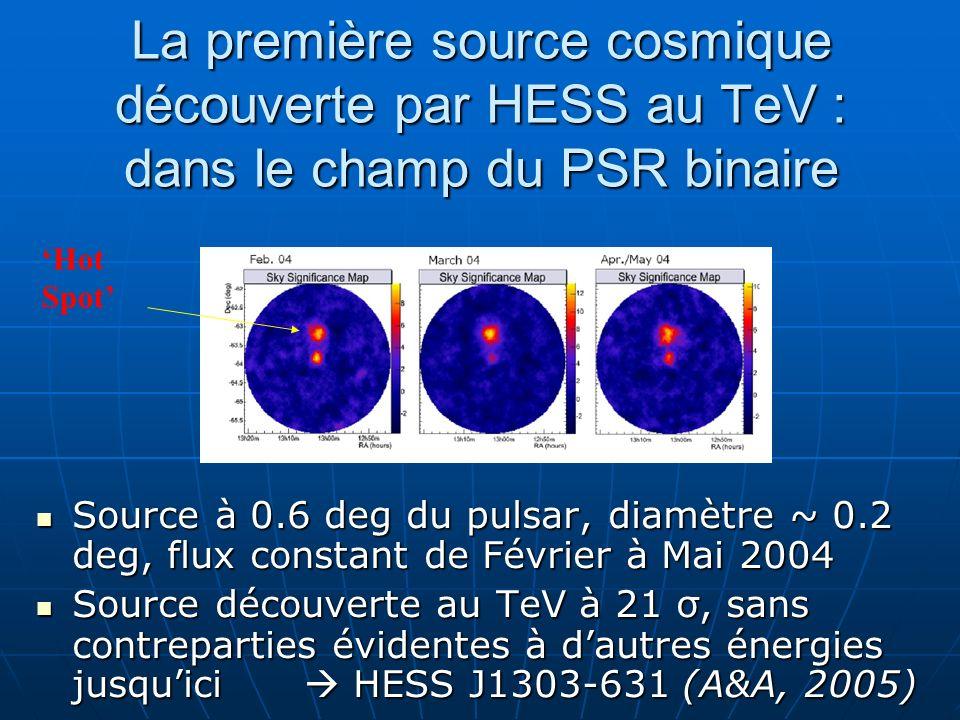 La première source cosmique découverte par HESS au TeV : dans le champ du PSR binaire