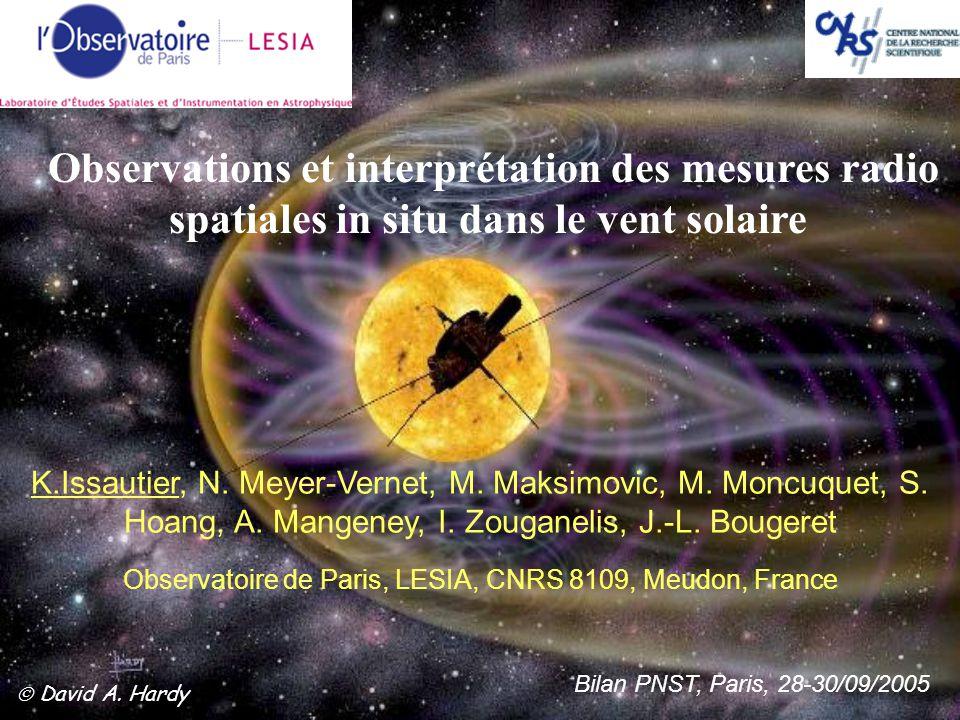 Observatoire de Paris, LESIA, CNRS 8109, Meudon, France