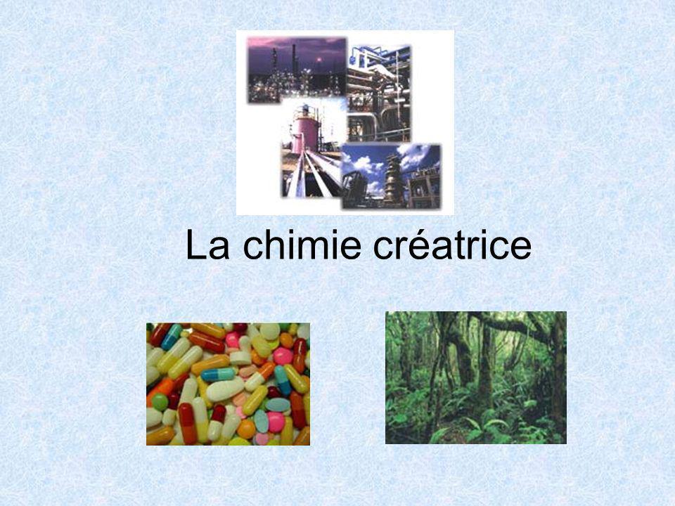 La chimie créatrice