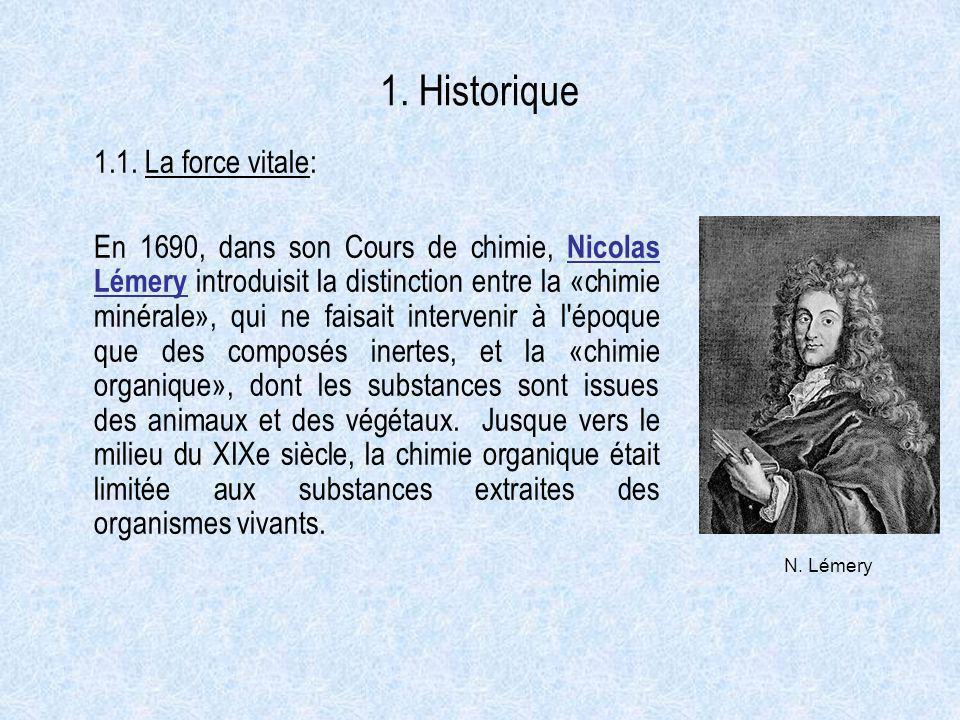 1. Historique 1.1. La force vitale: