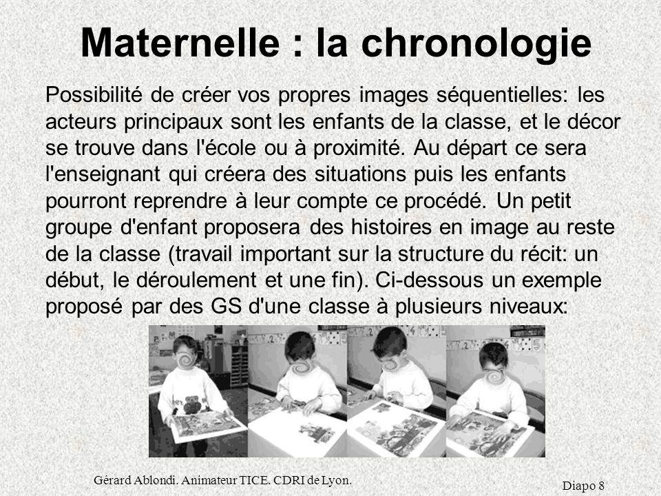 Maternelle : la chronologie