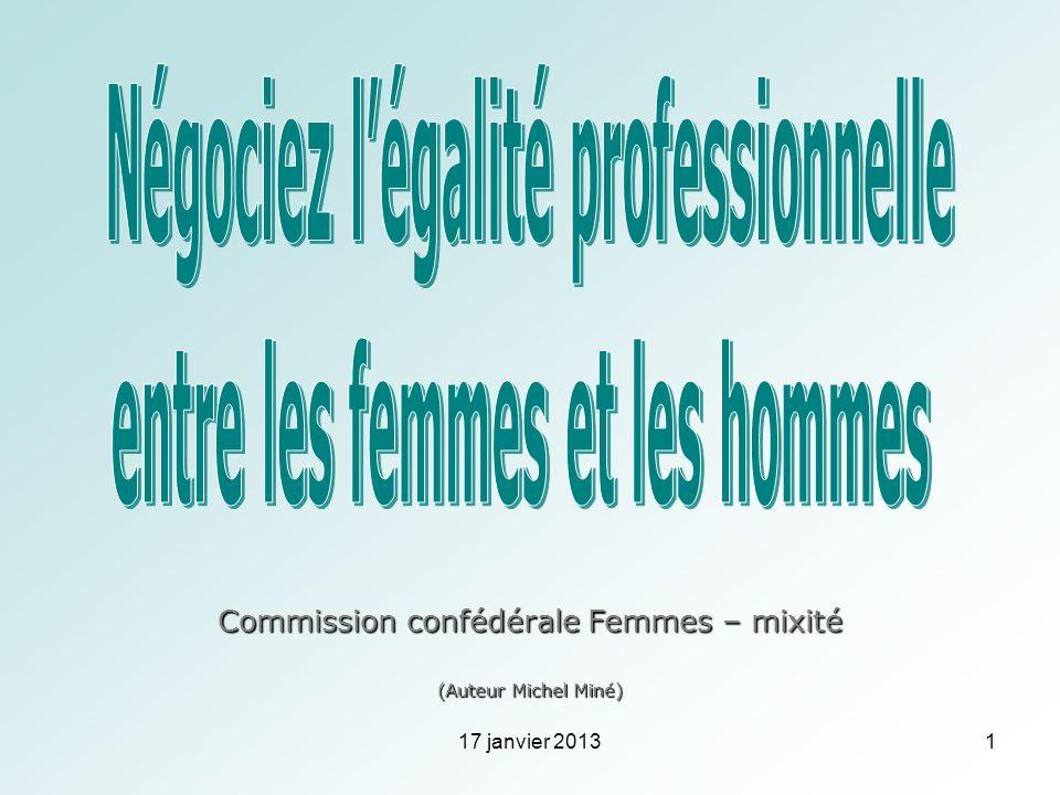 Négociez l'égalité professionnelle entre les femmes et les hommes