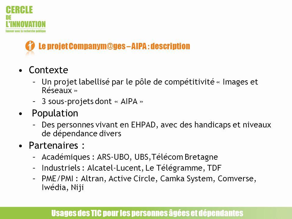 Le projet Companym@ges – AIPA : description