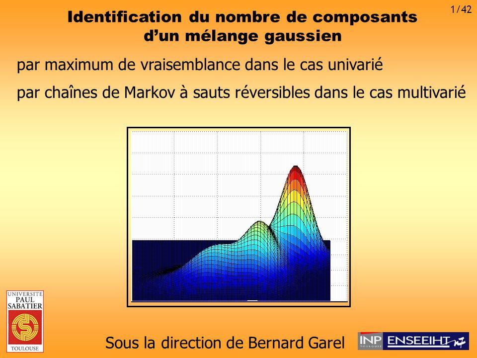 Identification du nombre de composants