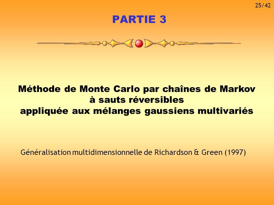 PARTIE 3 Méthode de Monte Carlo par chaînes de Markov