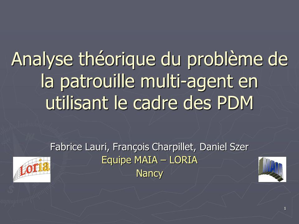Fabrice Lauri, François Charpillet, Daniel Szer