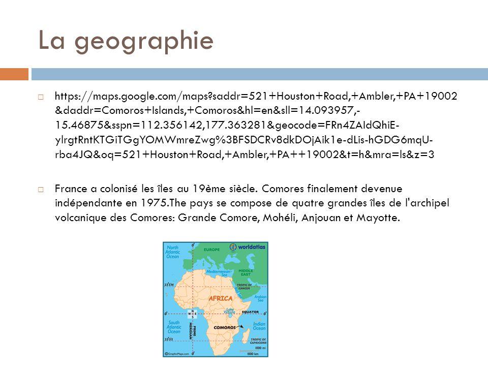 La geographie