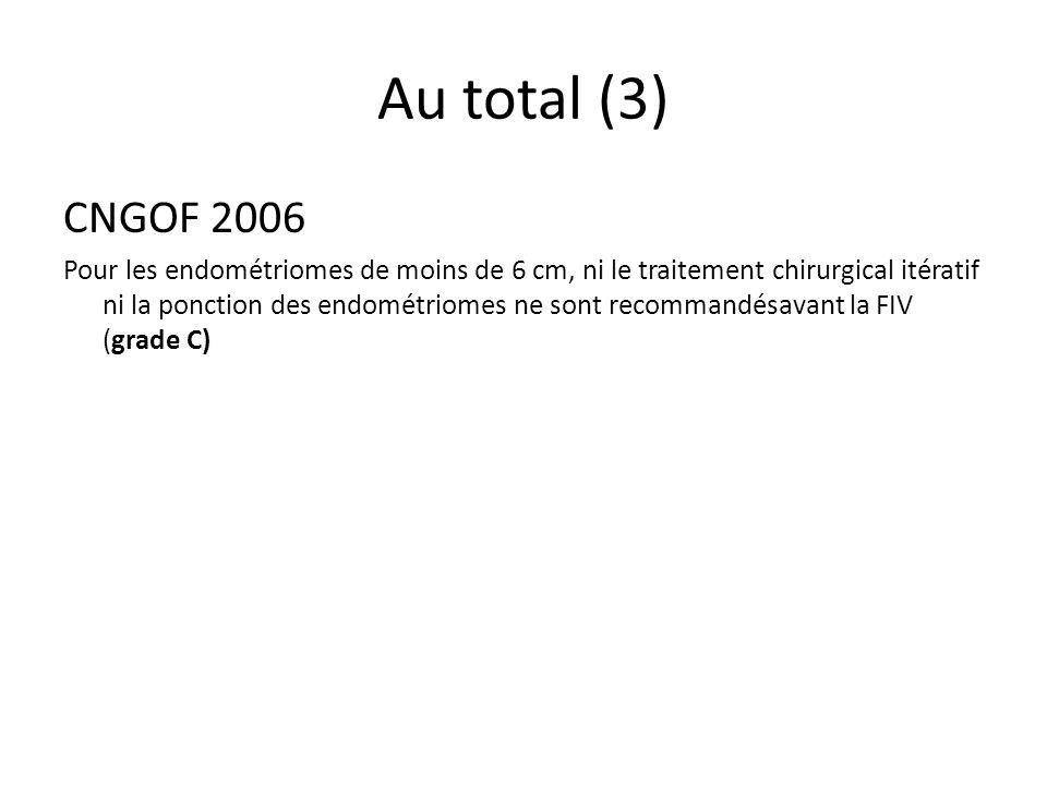 Au total (3) CNGOF 2006.