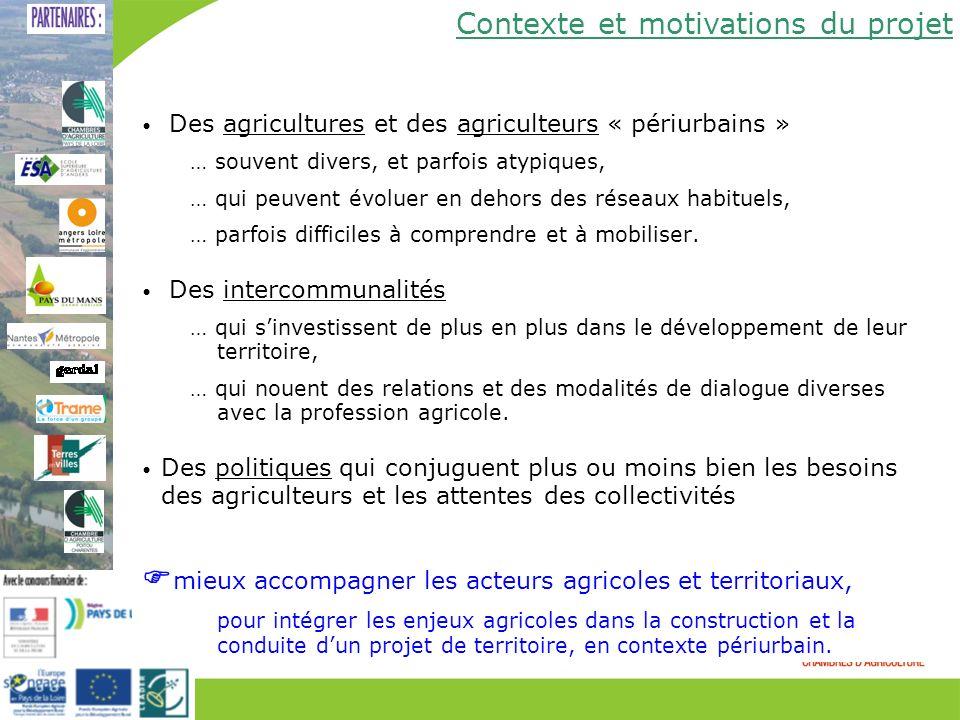 mieux accompagner les acteurs agricoles et territoriaux,