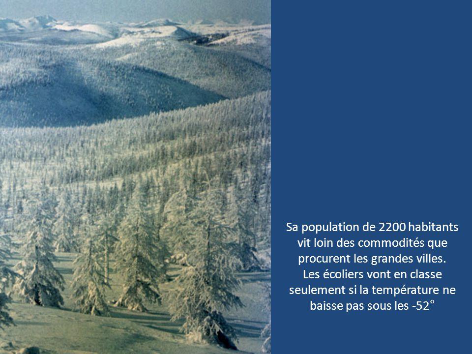 Sa population de 2200 habitants vit loin des commodités que procurent les grandes villes.