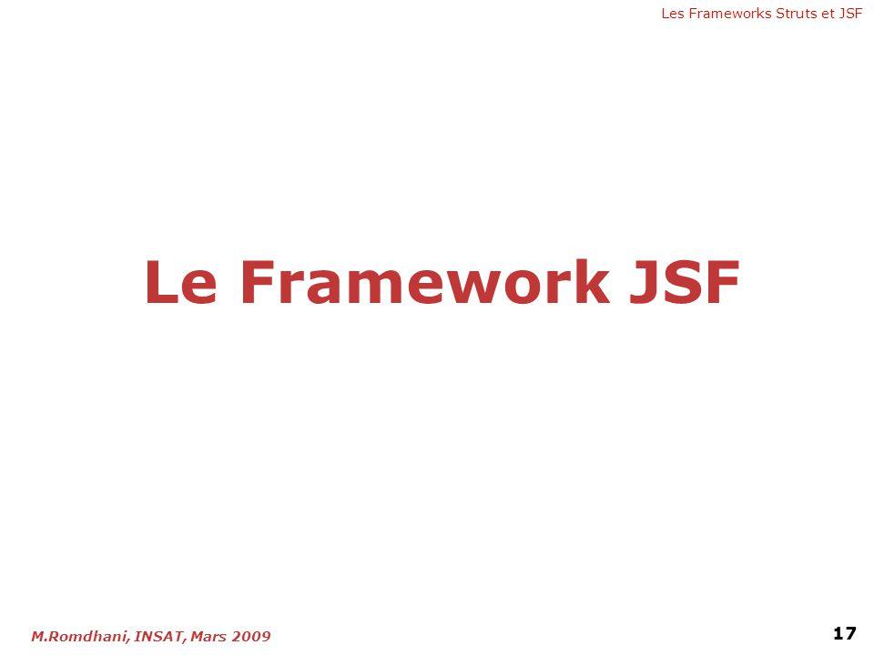 Le Framework JSF