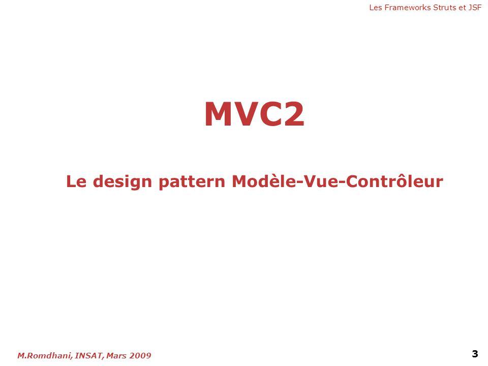 MVC2 Le design pattern Modèle-Vue-Contrôleur
