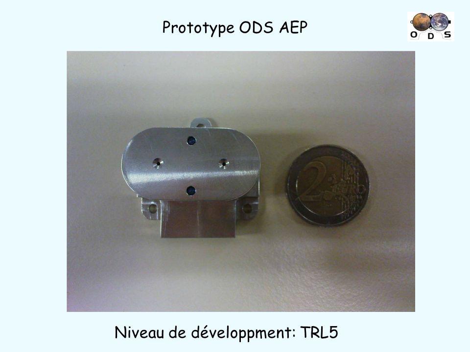 Prototype ODS AEP Niveau de développment: TRL5
