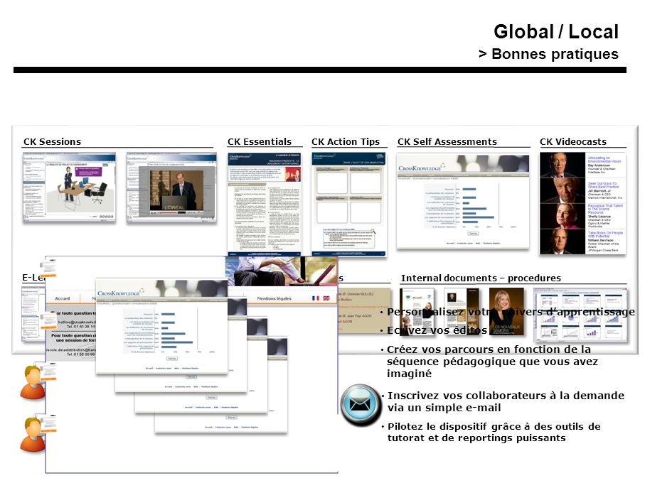 Global / Local Training On Demand Synthèse > Bonnes pratiques