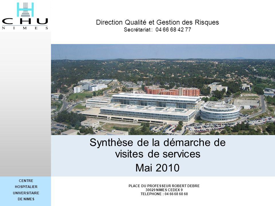 Synthèse de la démarche de visites de services Mai 2010