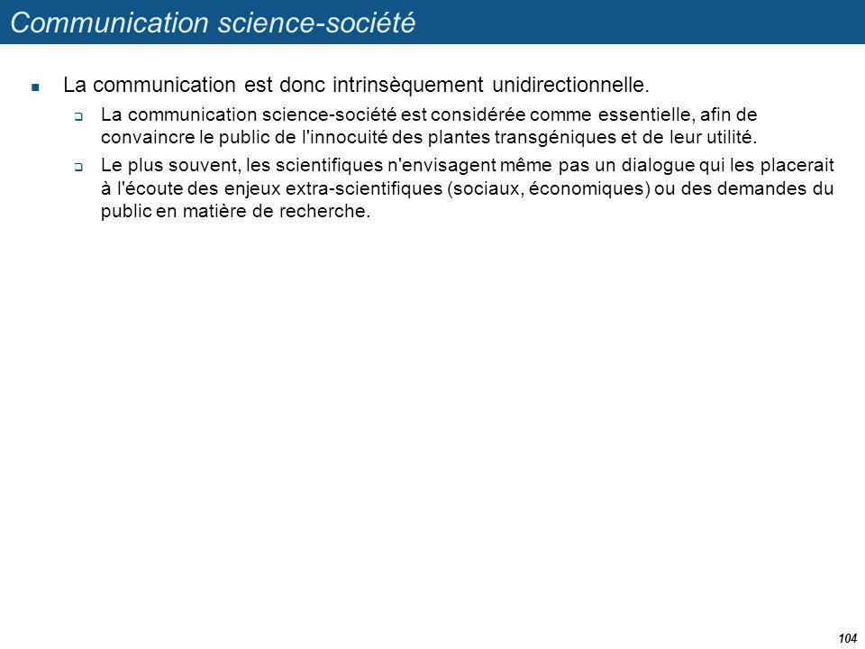 Communication science-société