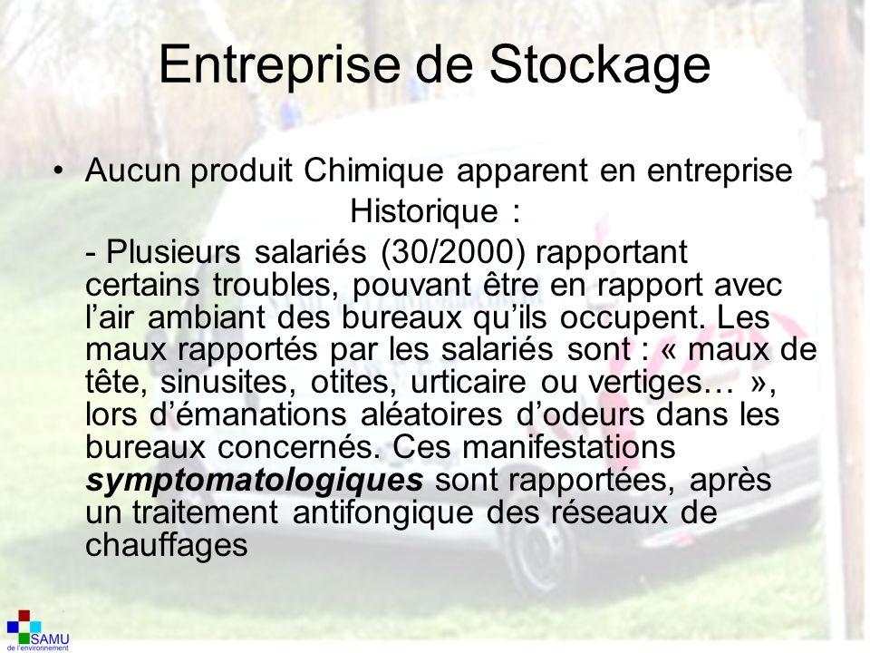 Entreprise de Stockage