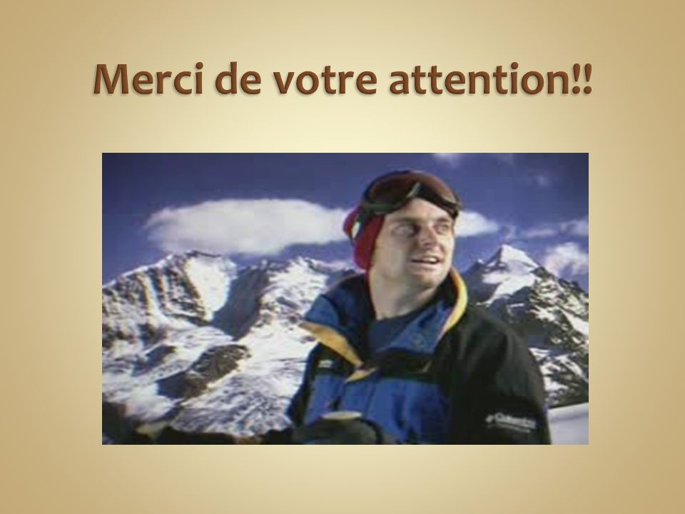 Merci de votre attention!!