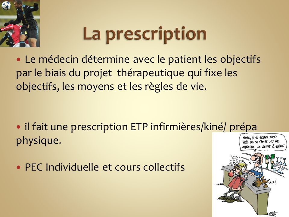 La prescription