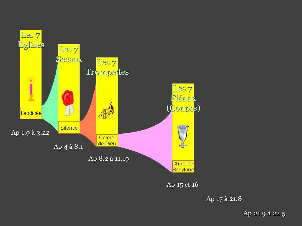 Les 7 Eglises Les 7 Sceaux Les 7 Trompettes Les 7 Fléaux (Coupes)