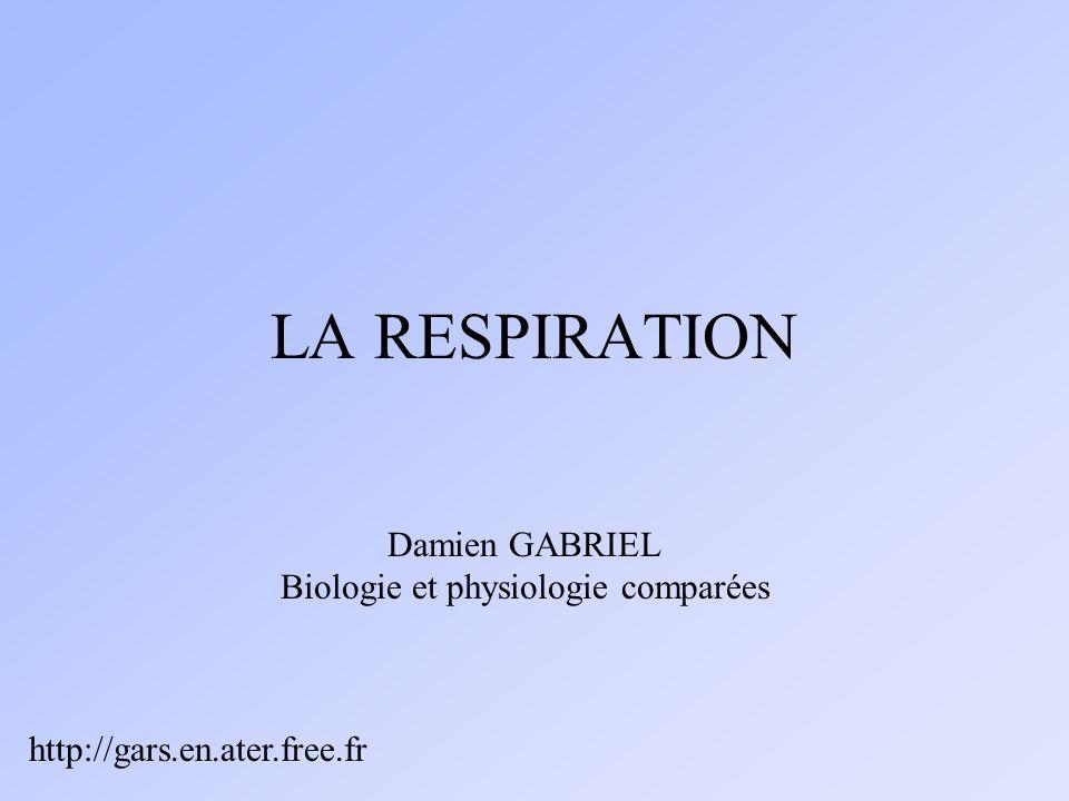 Biologie et physiologie comparées