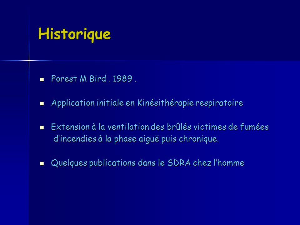 Historique Forest M Bird . 1989 .