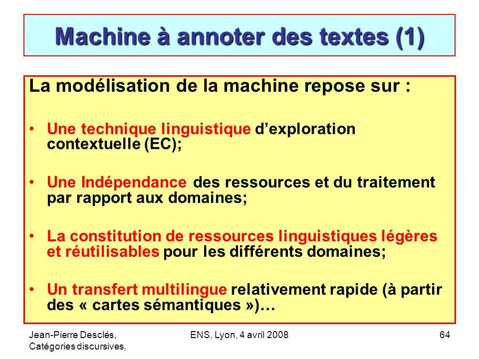 Machine à annoter des textes (1)