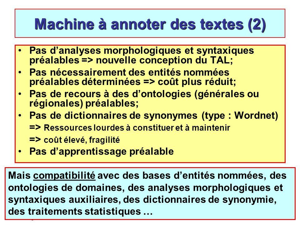 Machine à annoter des textes (2)