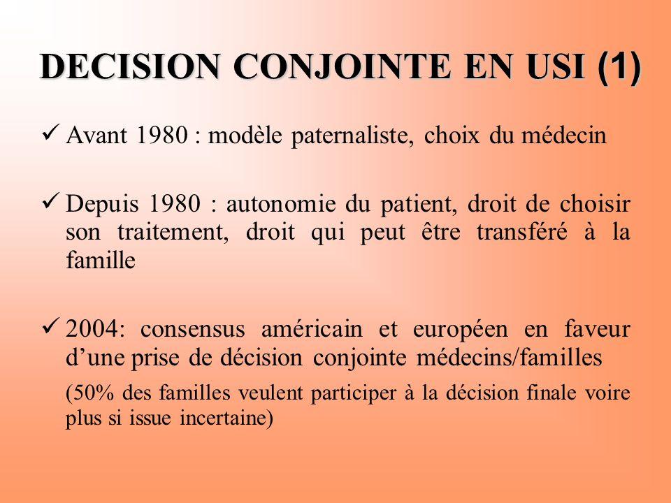 DECISION CONJOINTE EN USI (1)