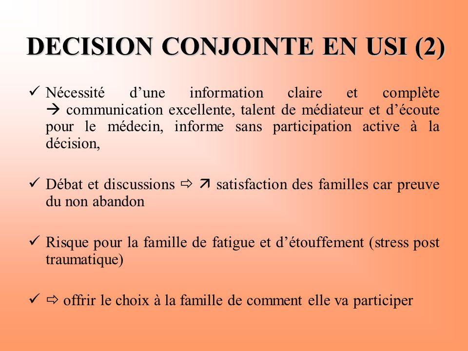 DECISION CONJOINTE EN USI (2)