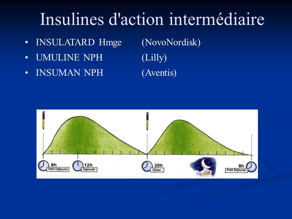 Insulines d action intermédiaire