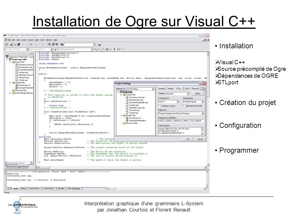 Installation de Ogre sur Visual C++