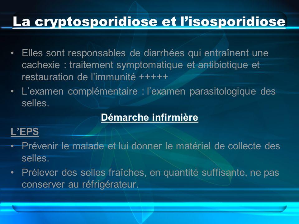 La cryptosporidiose et l'isosporidiose