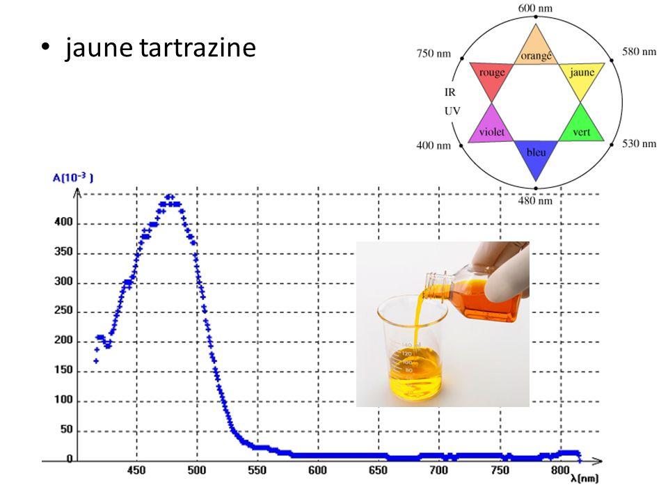 jaune tartrazine
