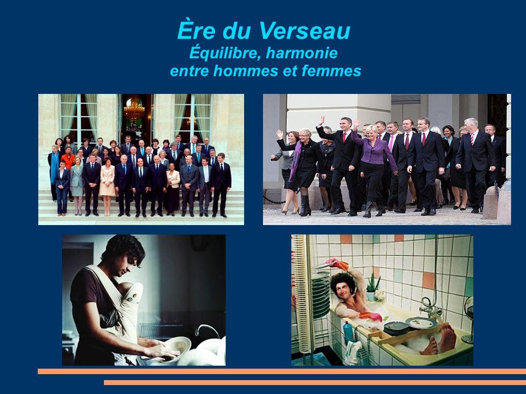 Ère du Verseau Équilibre, harmonie entre hommes et femmes