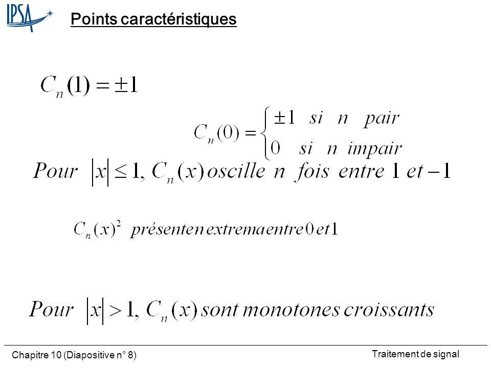 Points caractéristiques