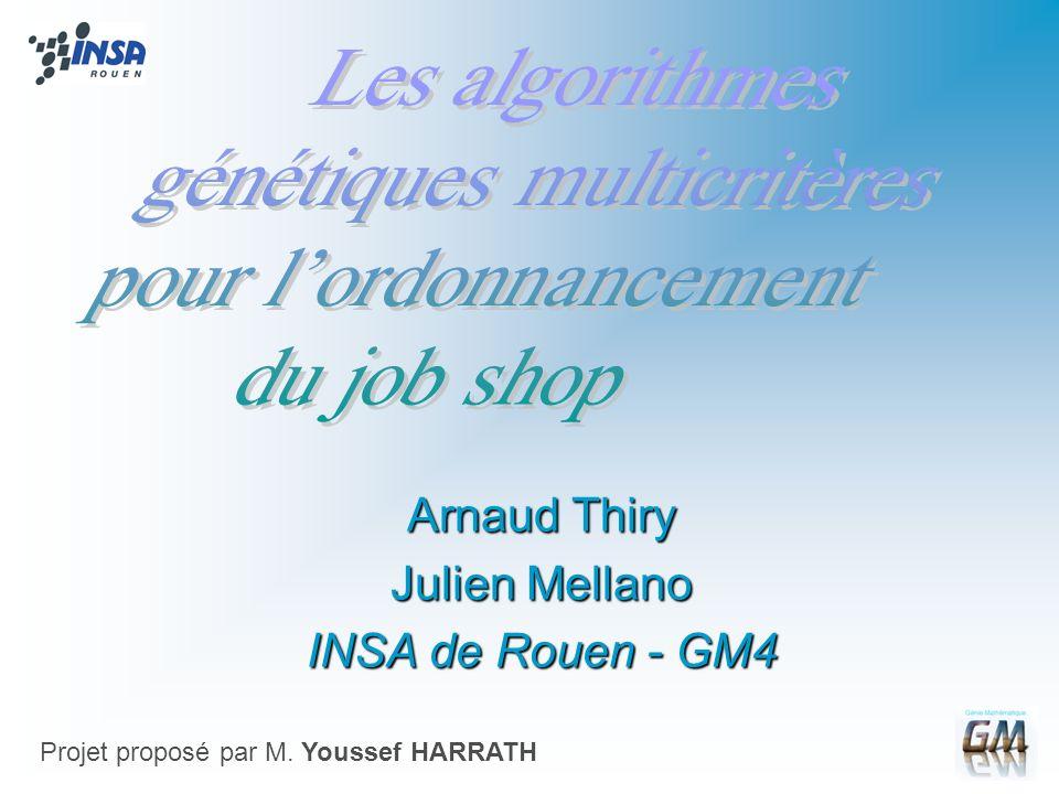 Arnaud Thiry Julien Mellano INSA de Rouen - GM4
