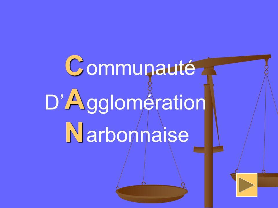 C A N ommunauté D' gglomération arbonnaise