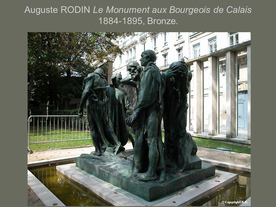 Auguste RODIN Le Monument aux Bourgeois de Calais 1884-1895, Bronze.