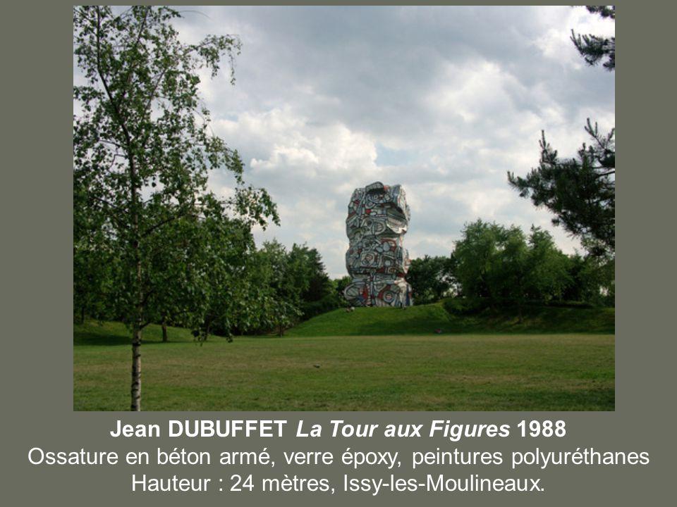 Jean DUBUFFET La Tour aux Figures 1988