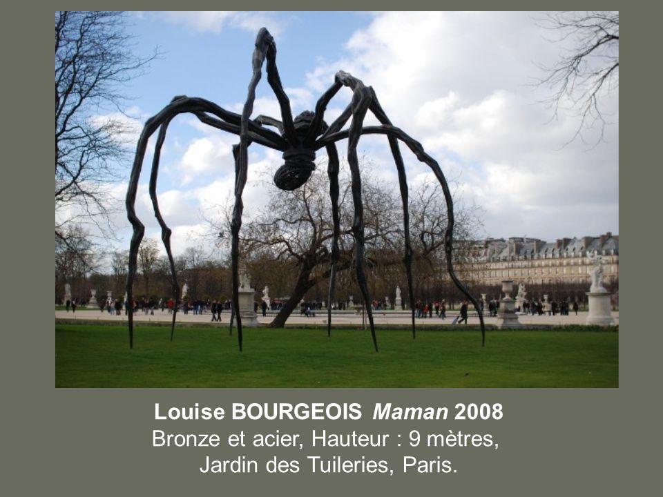 Louise BOURGEOIS Maman 2008 Bronze et acier, Hauteur : 9 mètres,