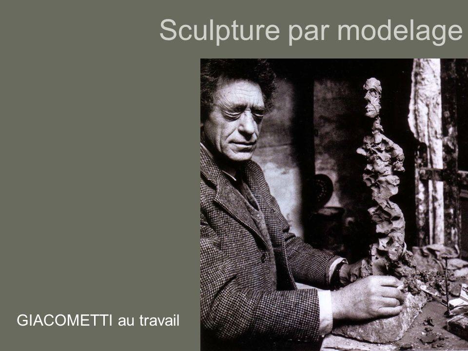 Sculpture par modelage