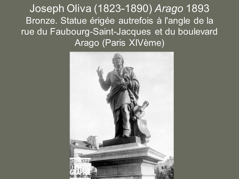 Joseph Oliva (1823-1890) Arago 1893 Bronze