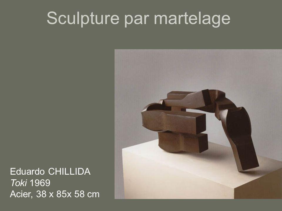 Sculpture par martelage