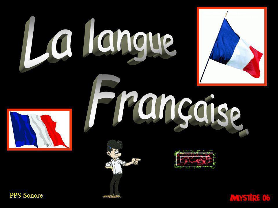 La langue Française. PPS Sonore