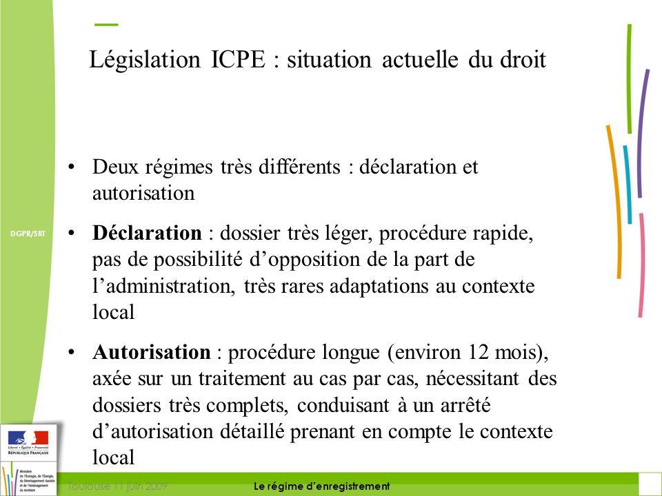 Législation ICPE : situation actuelle du droit