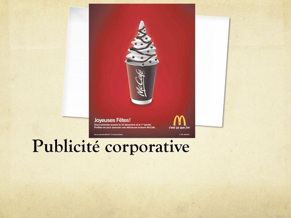 Publicité corporative