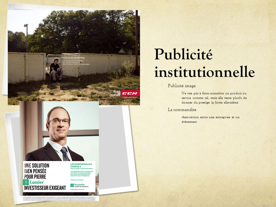 Publicité institutionnelle