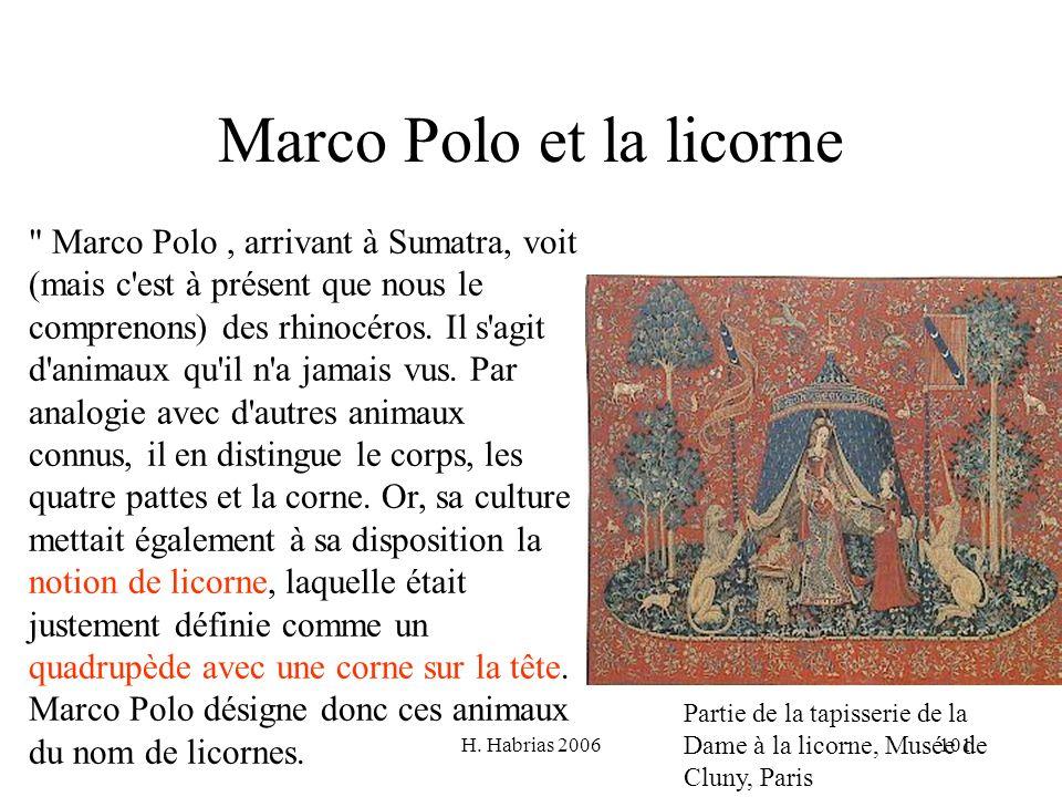 Marco Polo et la licorne